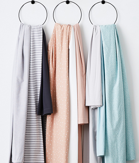 Stonewashed Cotton Sheet Separates