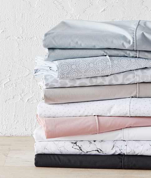 Fresh Cotton Percale Sheets
