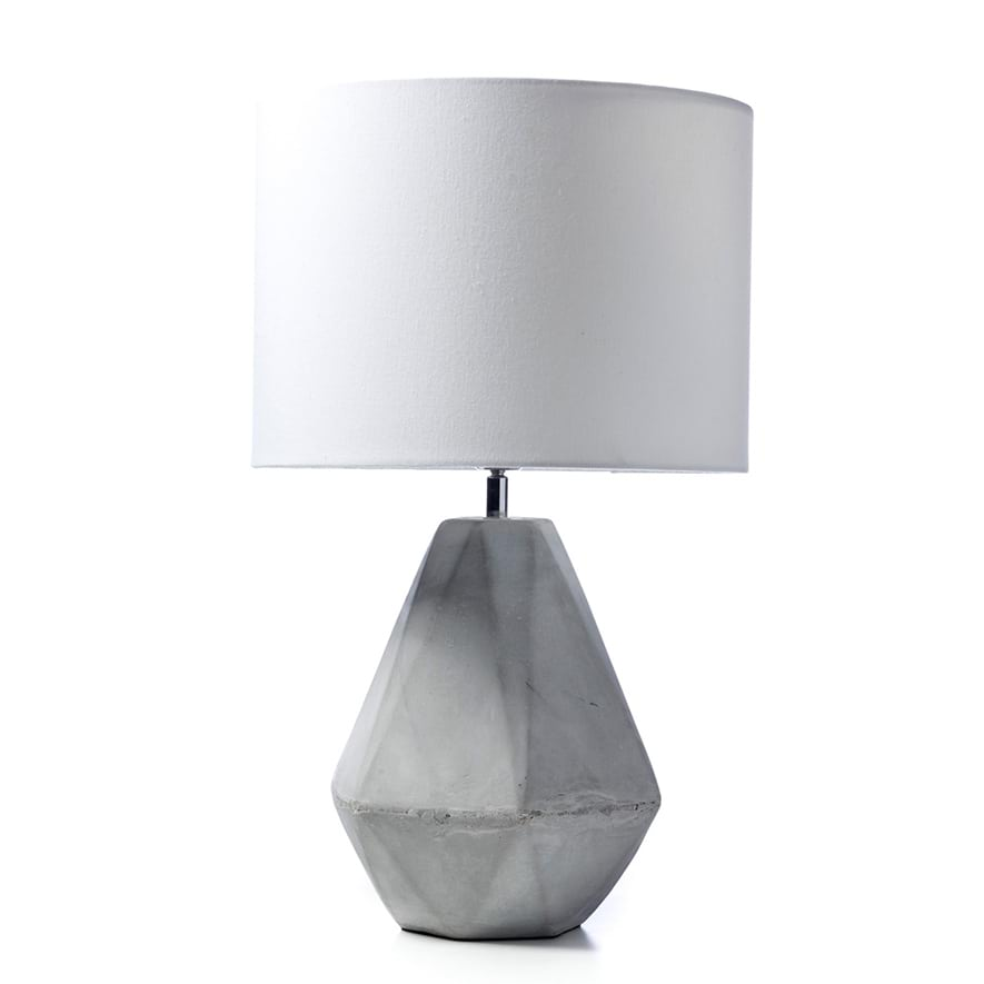 Home republic tobin table lamp grey homewares lighting adairs save mozeypictures Gallery